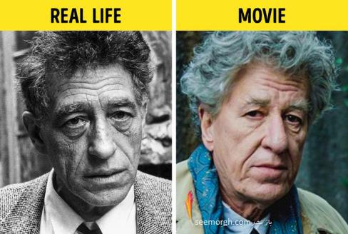 فیلم واقعی,فیلم بیوگرافی,فیلم زندگینامه,جفری راش,آلبرتو جاکومتی