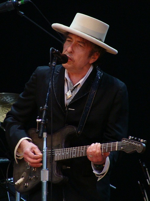 باب دیلن در فستیوال راک در بیتوریا اسپانیا