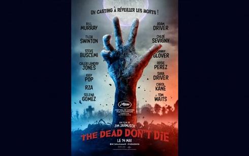 پوستر فیلم مردهها نمیمیرند در جشنواره کن 2019