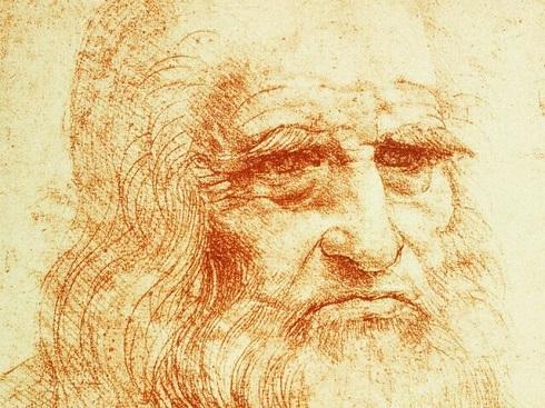 نمایش نقاشی پرتره لئوناردو داوینچی