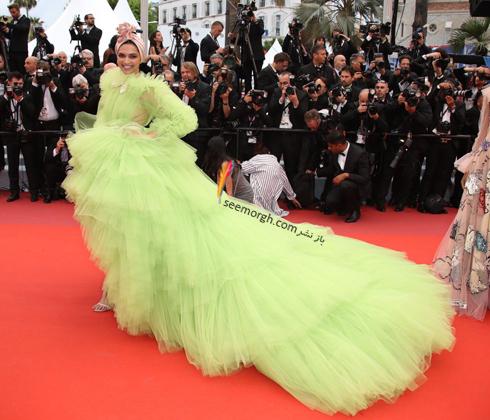 مدل لباس در جشنواره کن,مدل لباس دیپکا پادکن Deepika Padukone در جشنواره کن 2019 - 17 می