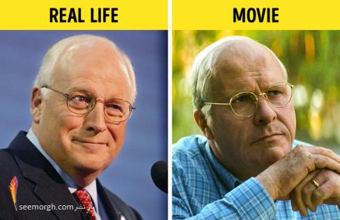 فیلم واقعی,فیلم بیوگرافی,فیلم زندگینامه,دیک چنی,کریستین بل