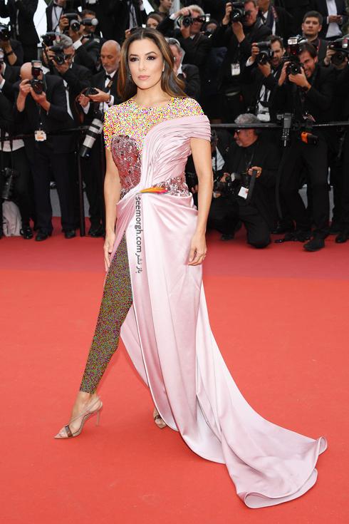 مدل لباس,مدل لباس در جشنواره کن,جشنواره کن,جشنواره کن 2019,مدل لباس در جشنواره کن 2019,مدل لباس اوا لانگوریا Eva Longoria در افتتاحیه جشنواره کن 2019 Cannes