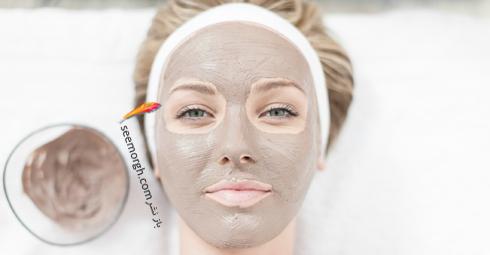 ماسک,ماسک صورت,ماسک سفید کننده صورت,ماسک عسل و بادام، روشن کننده پوست های کدر
