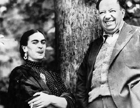 فریدا کالو Frida Kahlo و همسرش