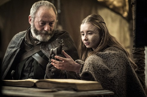 داووس و شرین در سریال بازی تاج و تخت
