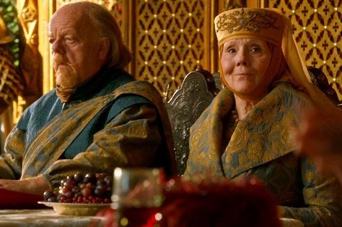 اولنا و میس تیرل در سریال بازی تاج و تخت