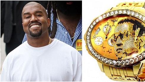 ساعت مچی گران قیمت کانیه وست