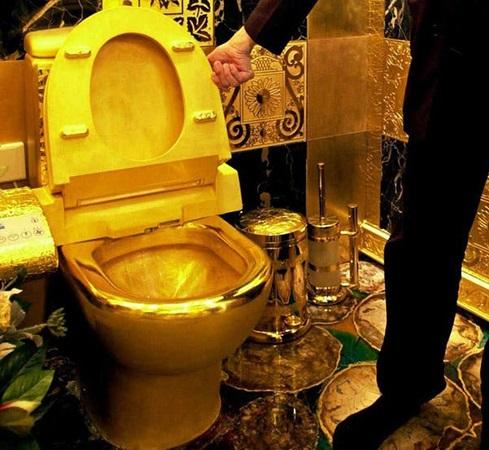 توالت طلا خانه کانیه وست