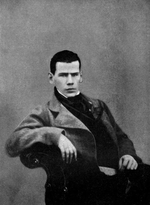 تصویری از بیست سالگی تولستوی به سال ۱۸۴۸ میلادی