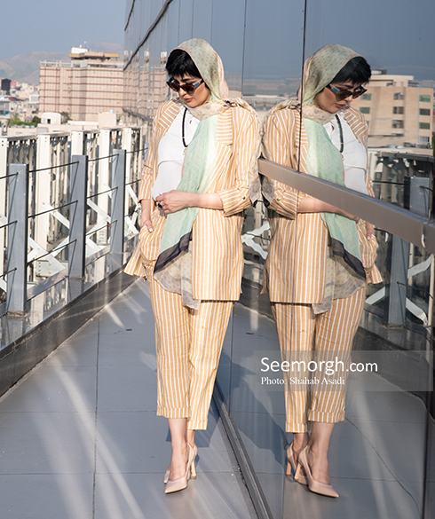 مدل مانتو,مدل مانتو بهاره,مدل مانتو بازیگران زن,مدل مانتو بازیگران زن ایرانی,مدل مانتو بهاره کوتاه به سبک مریم معصومی