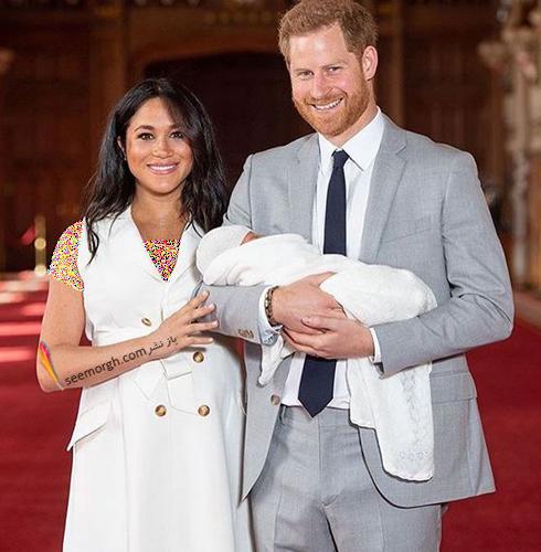مگان مارکل,پرنس هری,فرزند مگان مارکل و پرنس هری,اسم فرزند مگان مارکل و پرنس هری,جدیدترین عکس فرزند مگان مارکل Meghan Markle و پرنس هری Princeharry