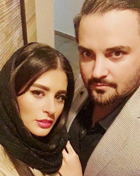 سلفی مهدی سلوکی و همسرش