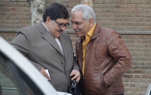 مهران مدیری و فرهاد اصلانی در سریال شبکه خانگی هیولا