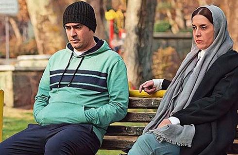 نازنین فراهانی و شهاب حسینی در فیلم نبات