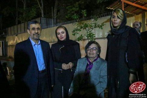 رضا رویگری,افطاری احمدی نژاد
