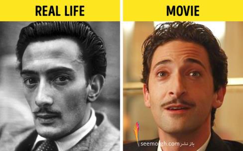 فیلم واقعی,فیلم بیوگرافی,فیلم زندگینامه,سالواردو دالی,آدرین برودی