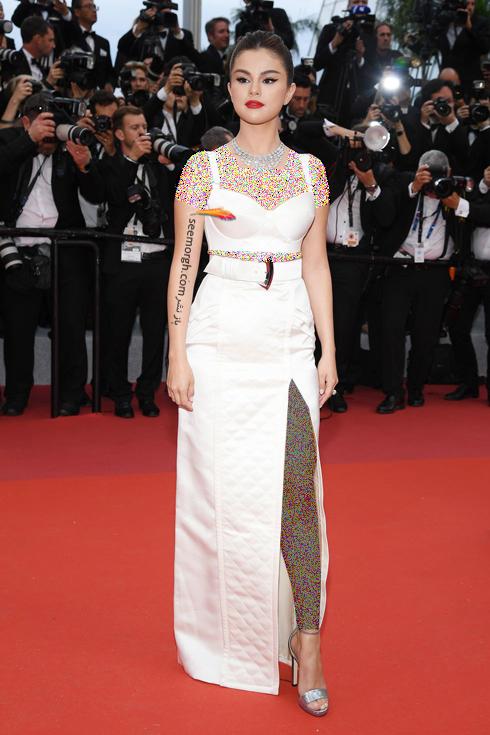 مدل لباس,مدل لباس در جشنواره کن,جشنواره کن,جشنواره کن 2019,مدل لباس در جشنواره کن 2019,مدل لباس سلنا گومز Selena Gomez در افتتاحیه جشنواره کن 2019 Cannes
