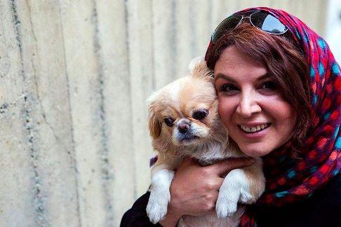 شهره سلطانی,اینستاگرام,سگ,عکس سگ