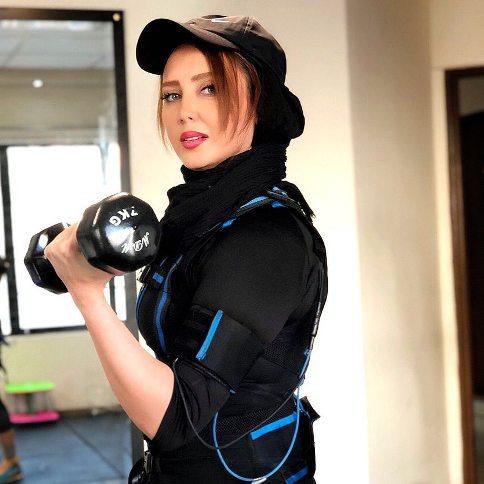 سولماز حصاری در باشگاه ورزشی