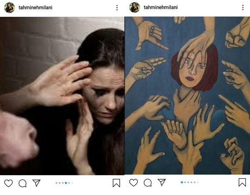 واکنش تهمینه میلانی به کپی بودن نقاشی اش