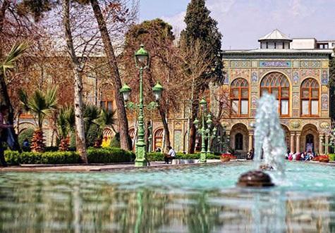 عکاسی در کاخ گلستان