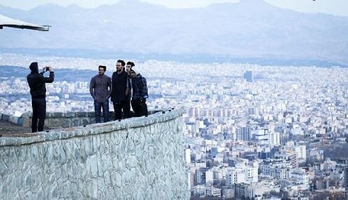 لوکیشن خوب برای عکاسی حرفه ایی در بام تهران