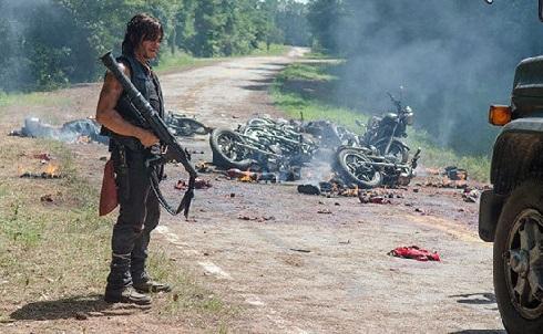 حمله زامبیها در سریال مردگان متحرک The Walking Dead