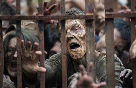 زامبی ها در سریال مردگان متحرک The Walking Dead