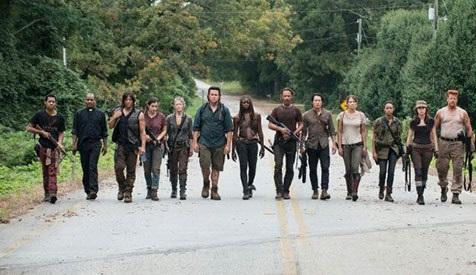 بازیگران سریال مردگان متحرک The Walking Dead