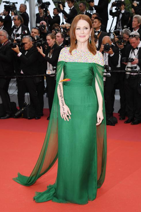 مدل لباس,مدل لباس در جشنواره کن,جشنواره کن,جشنواره کن 2019,مدل لباس در جشنواره کن 2019,مدل لباس جولین مور Julianne Moore در افتتاحیه جشنواره کن 2019 Cannes