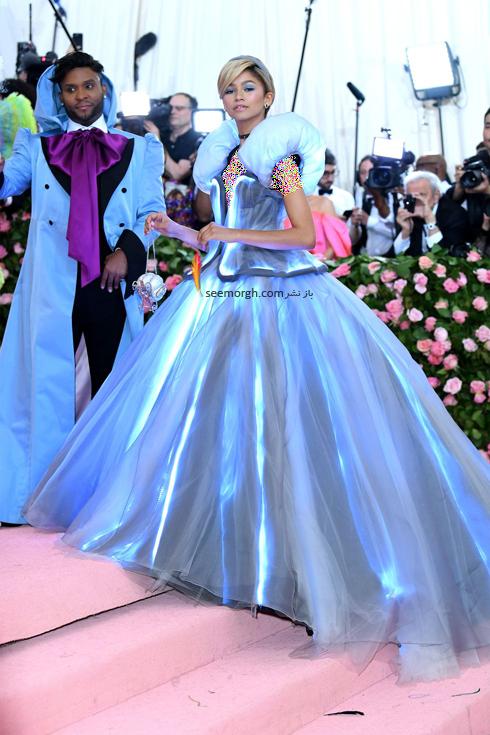 مت گالا,مدل لباس,مدل لباس در مت گالا,عجیب ترین مدل لباس,عجیب ترین مد لباس در مت گالا,مدل لباس در مت گالا 2019 Met Gala زندیا Zendaya