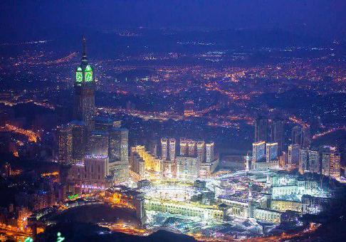 عکس هوایی از مکه