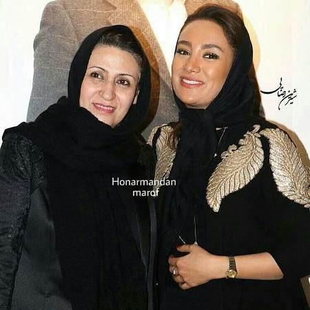 عکس بهاره افشاری و مادرش