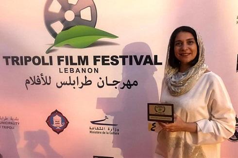معتمدآریا در بنفشه های افریقایی,فیلم فاطمه معتمدآریا در طرابلس