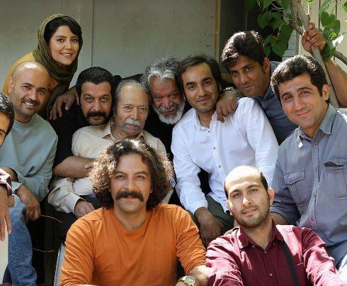 سریال برادرجان,ندا عقیقی,حسام منظور,افسانه,پشت صحنه