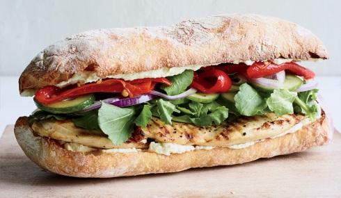 طرز تهیه ساندویچ مرغ و ترخون,ساندویچ,ساندویچ مرغ و ترخون