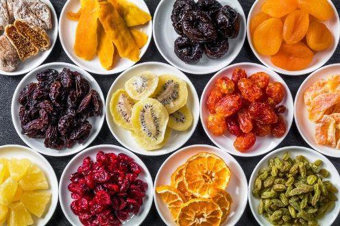 میوه خشک را چگونه تهیه کنیم که رنگش تغییر نکند