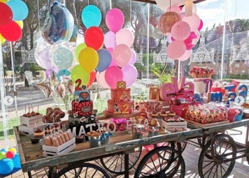 جشن تولد دوقلو های رونالدو 2