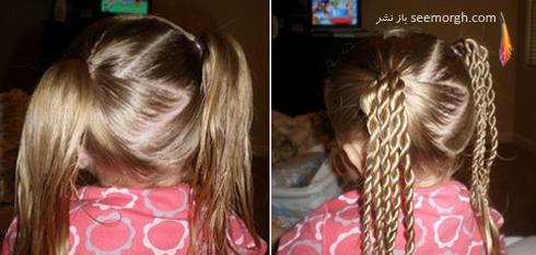 مدل مو,مدل مو دخترانه,مدل مو بچه گانه