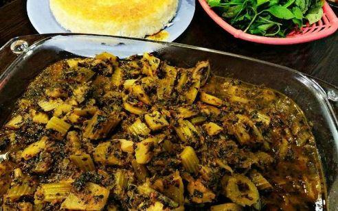 خورش,خورش کرفس,خورش بدون گوشت,خورش کرفس بدون گوشت,طرز تهیه خورش کرفس بدون گوشت