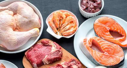 چگونه 1 ماهه 3 کیلو لاغر شویم؟,گوشت، ماهی، تخم مرغ : ضروریاند