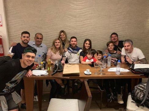 جشن تولد خانوادگی لیونل مسی