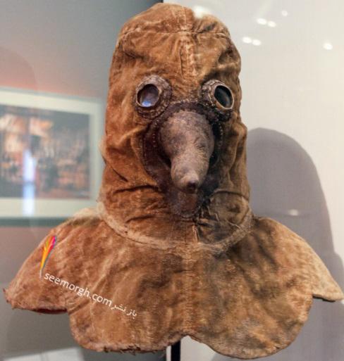 قرون وسطی,حقایق قرون وسطی,ماسک ضد طاعون