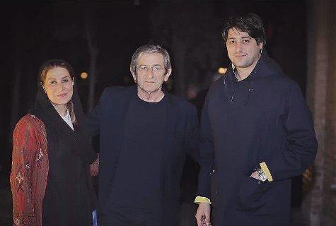 عکس فاطمه معتمدآریا در کنار همسر و پسرش
