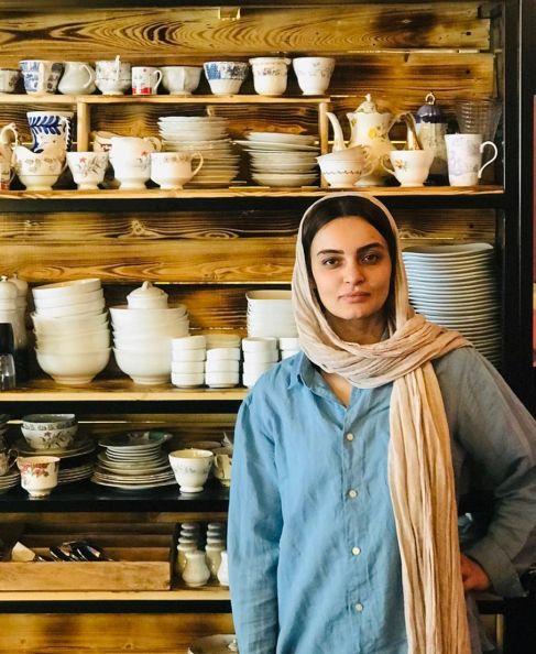 عکس از چهره بدون آرایش نیلوفر پارسا