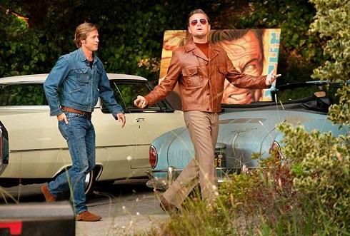 برد پیت و لئوناردو دی کاپریو در روزی روزگاری در هالیوود,روزی روزگاری در هالیوود,داستان فیلم روزی روزگاری در هالیوود