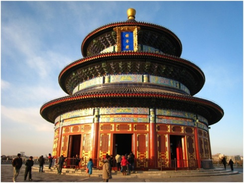 زیبایی های چین,جاهای دیدنی چین,معبد بهشت و فضایی رازگونه