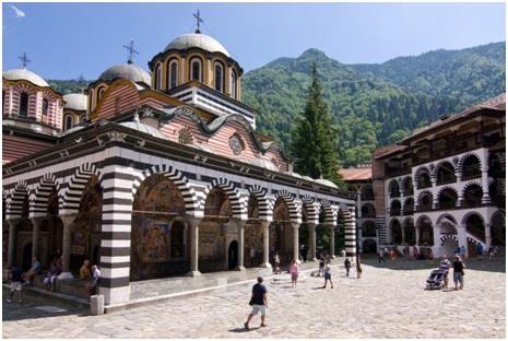 زیبایی های بلغارستان,جاهای دیدنی بلغارستان,صومعه ریلا بلغارستان