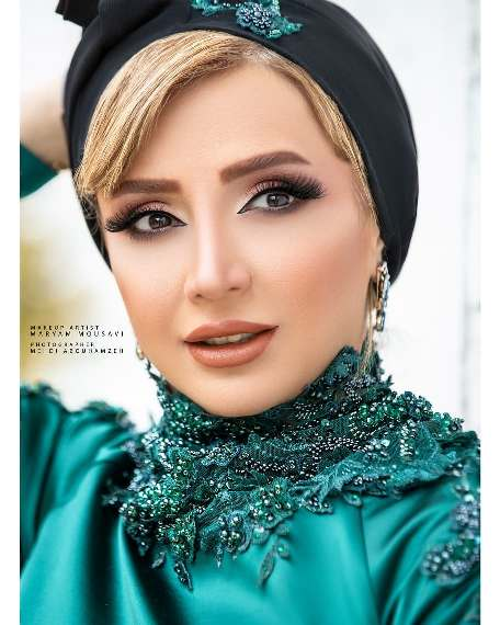 چهره شبنم قلی خانی به عنوان مدل آرایشی 2